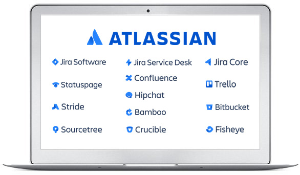 Atlassian products JIRA Confluence
